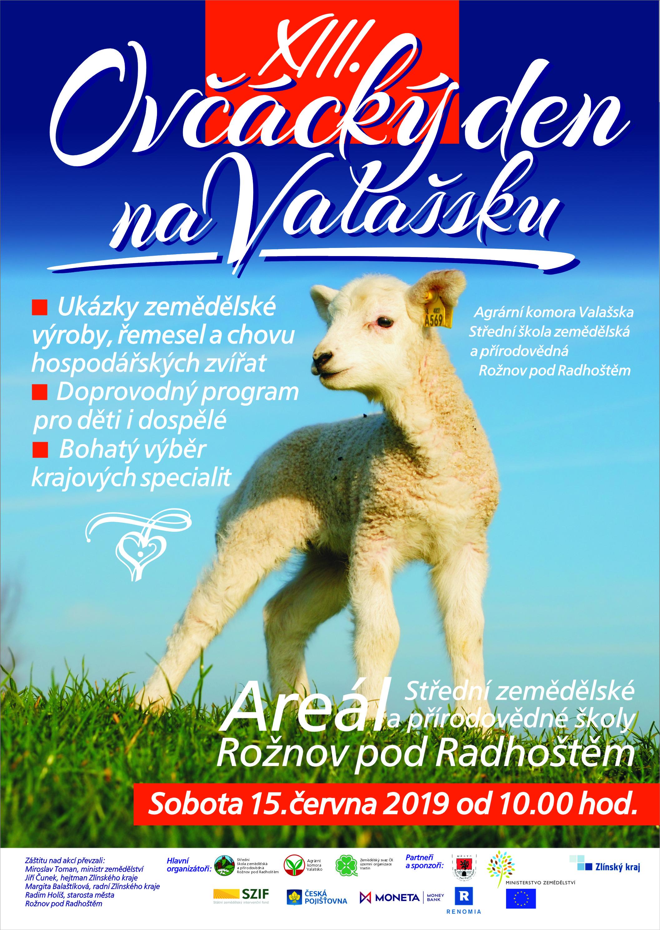 POZVÁNKA NA OVČÁCKÝ DEN NA VALAŠSKU - 15.6.2019
